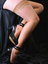 Silver Seamed Hold Ups (Natural & Black Available)