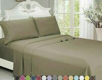 Egyptian Luxurious Comfort 2000 Series 4 Piece Bed Sheet Set Deep Pocket Sheets