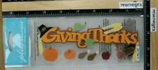 Jolee's GIVING THANKS 3D Stickers FALL HARVEST THANKSGIVING