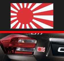 "4"" Japan Rising Sun Flag Vinyl Decal Bumper Sticker Japanese Car JDM Fits Honda"