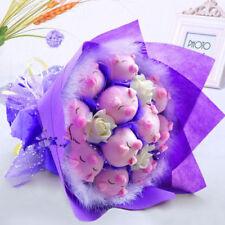 Cute Pink Piglet Birthday Girlfriend Bouquet Cartoon Creative Wedding Flowers