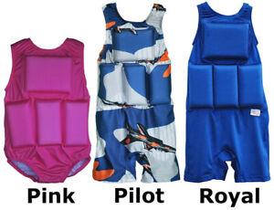Girl's or Boy's Swimwear My Pool Pal Flotation Swimsuit Fits Kids 20-70 lbs O350