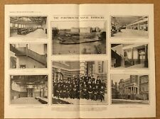 1903 PORTSMOUTH Dockyard - Royal Naval Barracks, Navy, Bluejackets PHOTO ARTICLE
