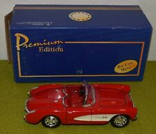 WELLY DIE CAST PREMIUM EDITION 1957 CHEVROLET CORVETTE 3041020