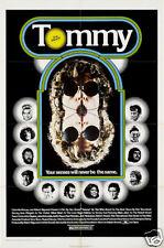 Tommy The Who Culto Música Cartel de Película Estampado