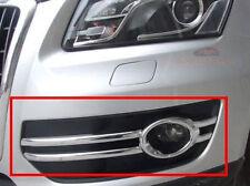 Chrome Fog Light lamp cover trim For AUDI Q5 2010 2011 2012
