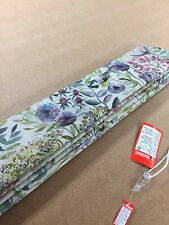 Roman Blind Voyage Morning Chorus Country Linen Interlined Mechanised Track MTM