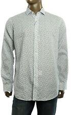$165 New Mens Polo Ralph Lauren Linen Cotton Animal Print White Sport Shirt XL