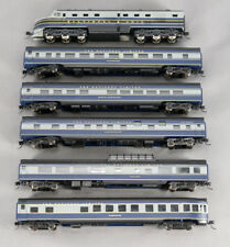 "N DL-109 DUMMY 6 CAR SET SMOOTHSIDE BALTIMORE & OHIO ""NATIONAL LIMITED 1-08516S"