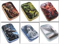 Anne Stokes tin VARIOUS tobacco trinket container mythical unicorn Dragon wolf