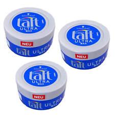 (57,20 €/ L) 3 x 75 ml Taft Ultra Wax Texture Ultra Stronger Hold 24 H Styling