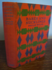 1st Edition BABES AND SUCKLINGS Philip Wylie FIRST PRINTING Fiction CLASSIC