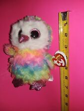 OWEN THE OWL~TY BEANIE BOO! COLLECTION~BRAND NEW WITH TAGS~LOWEST ON LINE~BID $1