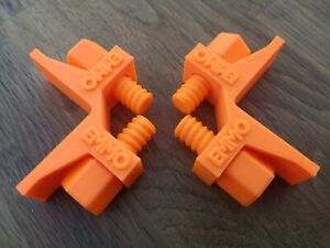 bricklaying stabilisers profile clips x2 orange line clip