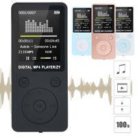 2019 Fashion Ultra-thin Portable MP3/MP4 Lossless Sound Music Player FM Recorder