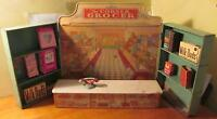 Wolverine The Corner Grocer Tin Foldout 1930s Display, w/ Boxes of Food & Soap