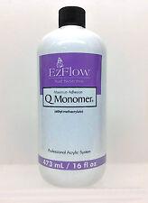 EzFlow Nail Systems - Q Monomer Acrylic Nail Liquid - Large 16oz