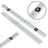 "2Pcs 12"" 300mm Aluminium Alloy Miter Bar Miter Slider Table Saw Miter Gauge Rod"
