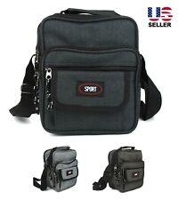 Mens Womens Crossbody Messenger Bag Shoulder Pack Travel Sport Work Waterproof