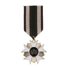 Mens Vintage Fabric Medal Brooch Pin Badge Military Retro Uniform Jewelry