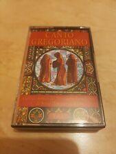 Canto Gregoriano Vol 1 Benedictino Santo Domingo de Silos Cassette Tape TESTED