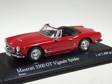Minichamps Maserati 3500 GT Vignale Spider rot in 1:43 - TOP