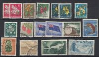 New Zealand 1961 Used Set To 10/- Fine Used J8992