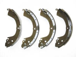 Brake Shoes Rear (4) For Mitsubishi L200 K74 2.5TD / K77 2.8TD / K76 3.0P 96-07