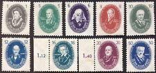 DDR 1950. 9 Marken 250 Jahre Akademie der Wissenschaften, postfrisch Mi 261-268,