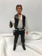 "Vintage Kenner Star Wars 12""Inch HAN SOLO figure W. Acessories boots And Gun"