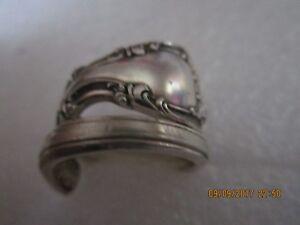 Spoon Ring Handmade, Gorham melrose Sterling Silver, size 8.5