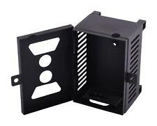 Wildkamera Metallgehäuse Schutzgehäuse abschließbar schwarz Überwachungskamera
