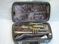 Vintage Cleveland Superior Cornet Marching Student Brass Musical Instrument