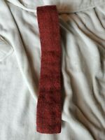 Vintage ROOSTER TIE Skinny Square End Necktie- All Types of Guns