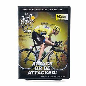 Le Tour de France 2013 Collector's Edition 5-Disc DVD Set World Cycling Attack