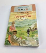 Audio Book Staying On Paul Scott by Geraldine James Double Cassette Sealed