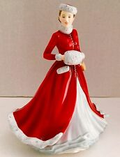 Signed M. Doulton Royal Doulton  NOELLE 2014 CHRISTMAS DAY Limited Ed NIB   SALE