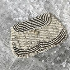 1920s beaded bag antique vintage glass evening handbag purse bridal wedding
