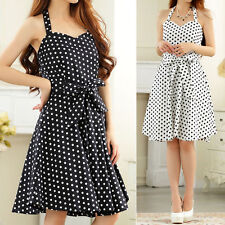 Chiffon Spotted Dresses for Women
