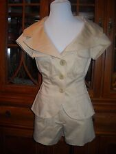 Marciano Women's Jacket & Shorts Set Sz. 4 & 2