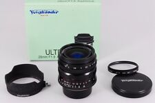 【Exc+++++】 Voigtlander ULTRON 28mm F/1.9  Aspherical Leica L39 from japan #198