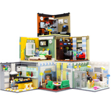 Baukästen Spielzeug Modell Kreative Street View Home Decor Indoor Szene 6set