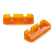 Front Indicator Lens Pair : ORANGE: VC/VE Sedan/Ute/Wagon VF/VG Hardtop Valiant