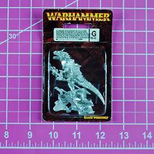 Warhammer Dark Elf Supreme Sorceress on Cold One - Metal Rare OOP Citadel Elves