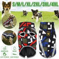 Hundekleidung Wintermantel Reflektierend Hundejacke Regenmantel Haustier