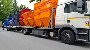 Multicar Container, Absetzcontainer, Mini Mulde , Lagerware, DIN 30720