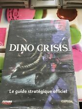 GUIDE DINO CRISIS SEGA DREAMCAST PLAYSTATION 1 PS1 PSONE PC *NEUF*