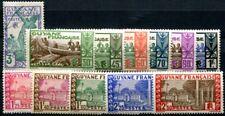 GUYANE 1939 Yvert 157-168 ** POSTFRISCH TADELLOS (F3676