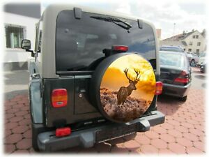 Personalised Spare Wheel Cover Individual Size your Image, Text business details