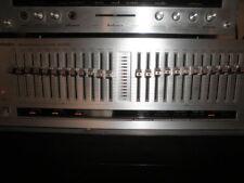 MITICO ECUALIZADOR VINTAGE TECHNICS SH8020 12 BANDAS X2 BOTONES LED MADE  JAPAN